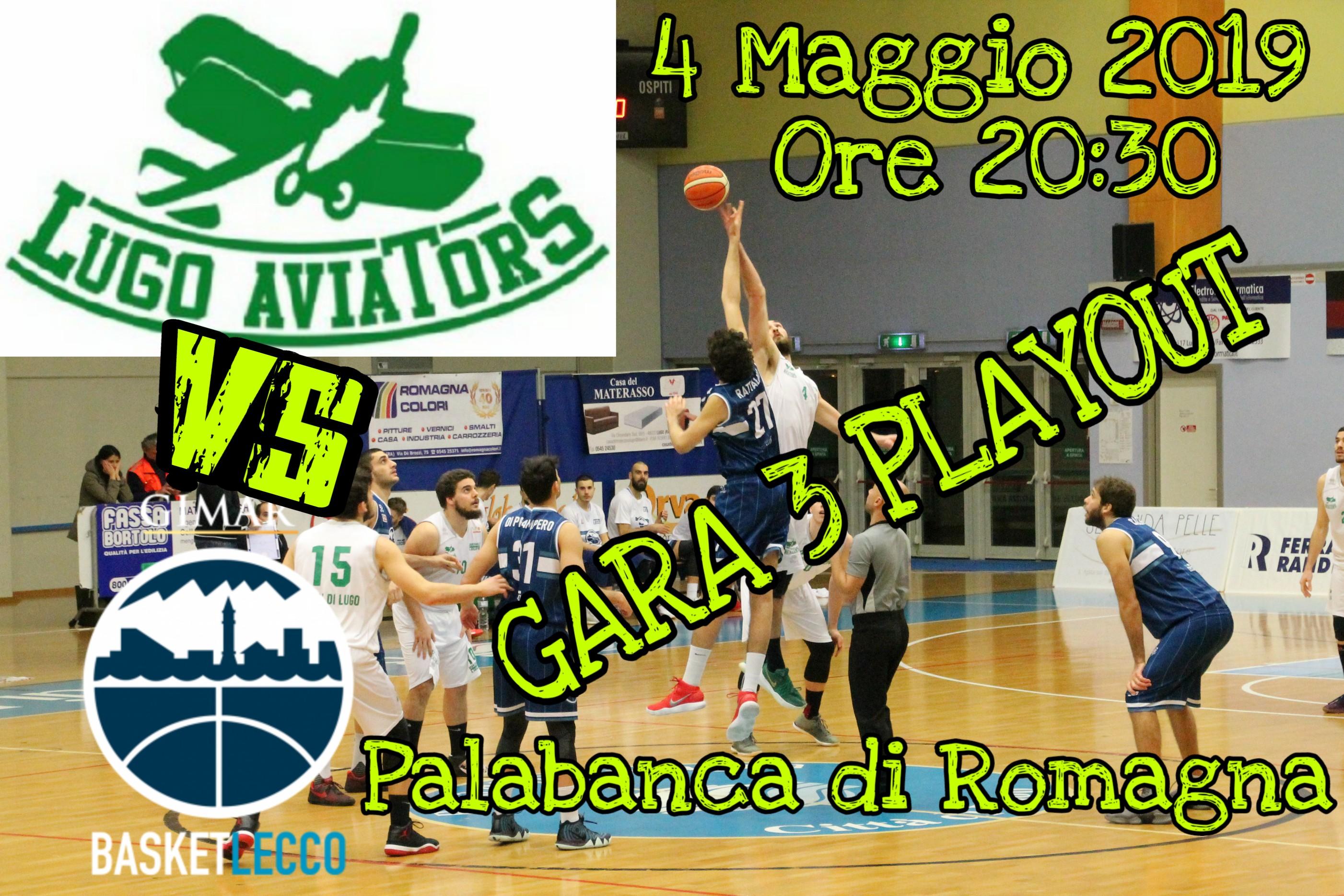 Casa Del Materasso Lugo gara 3 playout! | basket lugo