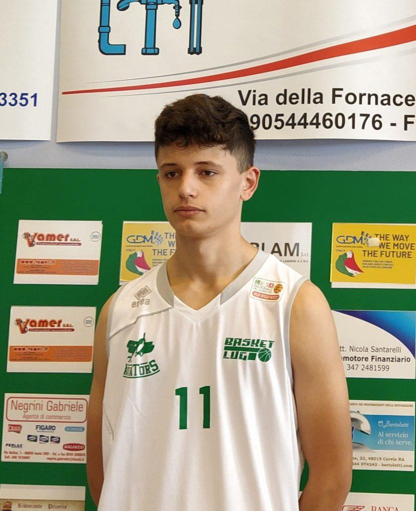 Giulio Martini è il nuovo arrivo nel Basket Lugo