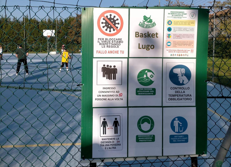 Il Basket Lugo prosegue l'attività sportiva!