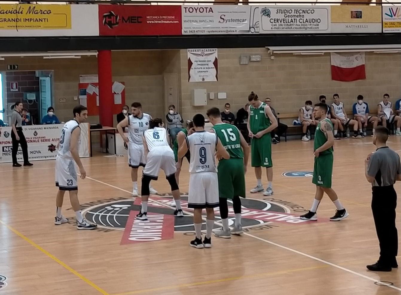 Ferrara Basket 84   Aviators Lugo 73
